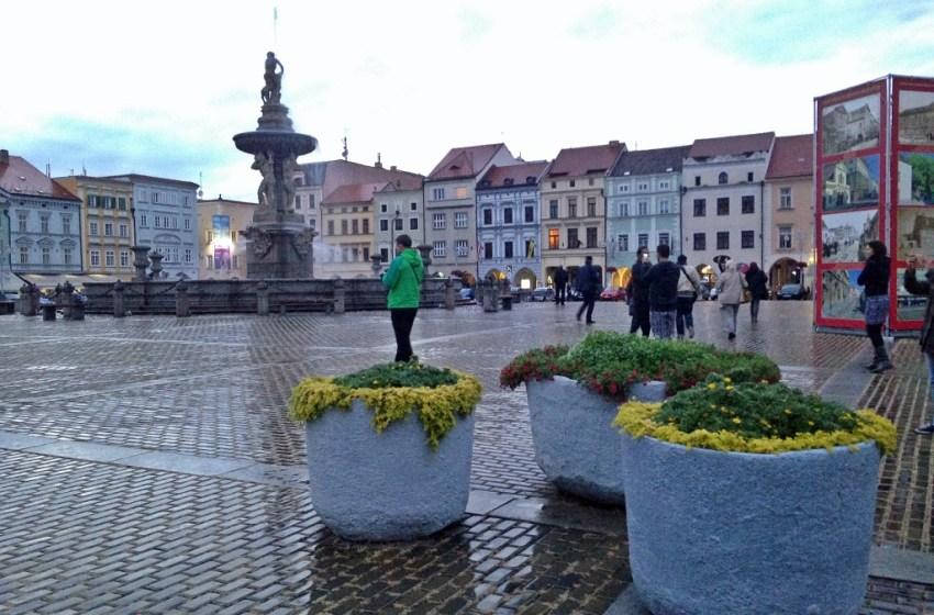 Travel Diary: 15 minutes in Budweis / České Budějovice