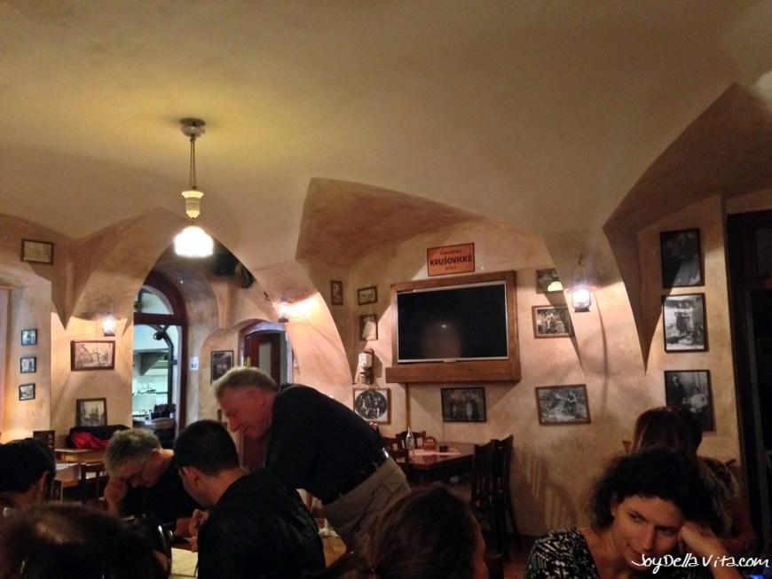 Restaurant U MLYNAREin Prague
