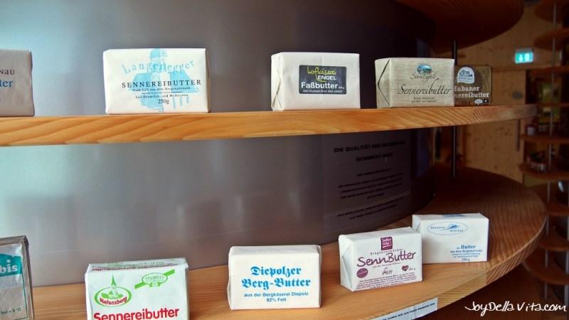 regional Butter of the Allgäu area