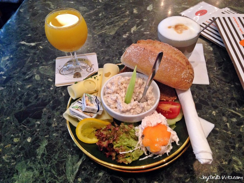 """Ginnheim"" Breakfast at Cafe Karin Frankfurt"