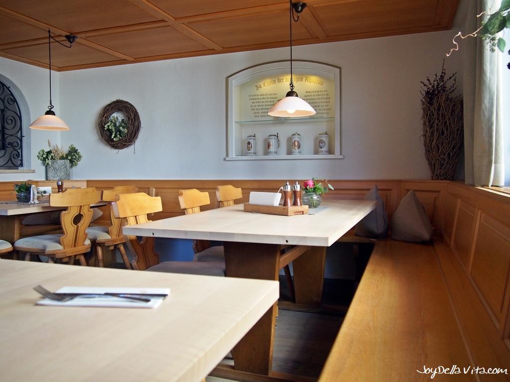 Restaurant Meckatzer Bräustüble in Meckatz, Heimenkirch (Allgäu) JoyDellaVita Travelblog