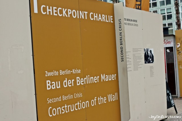 """Checkpoint Charlie """"Construction of the Wall"""""""