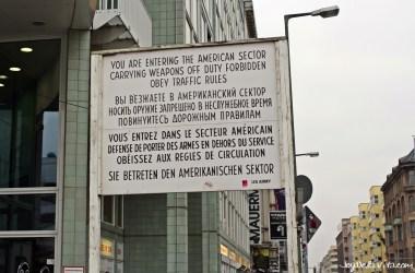 Checkpoint Charlie Berlin JoyDellaVita Travelblog