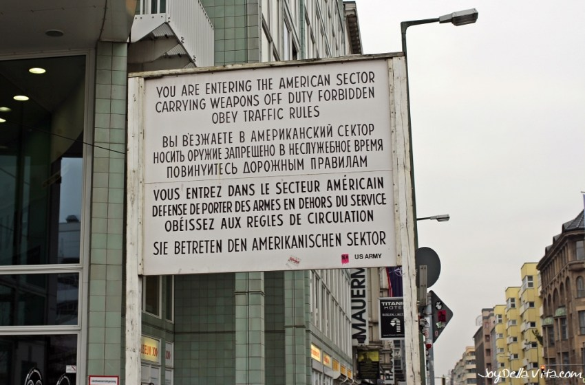 Why you should visit Checkpoint Charlie in Berlin