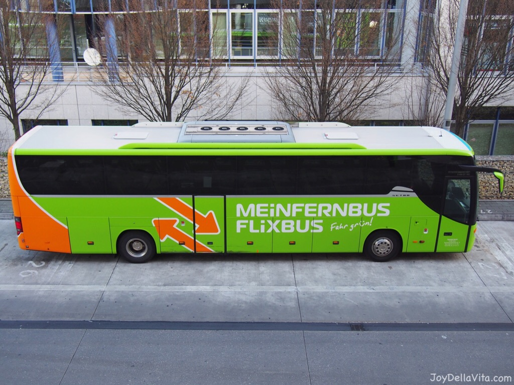traveling to munich with meinfernbus flixbus joy della. Black Bedroom Furniture Sets. Home Design Ideas