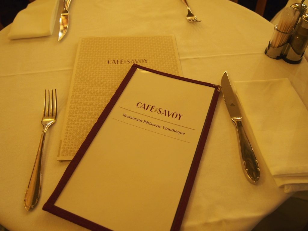 Café Savoy in Prague