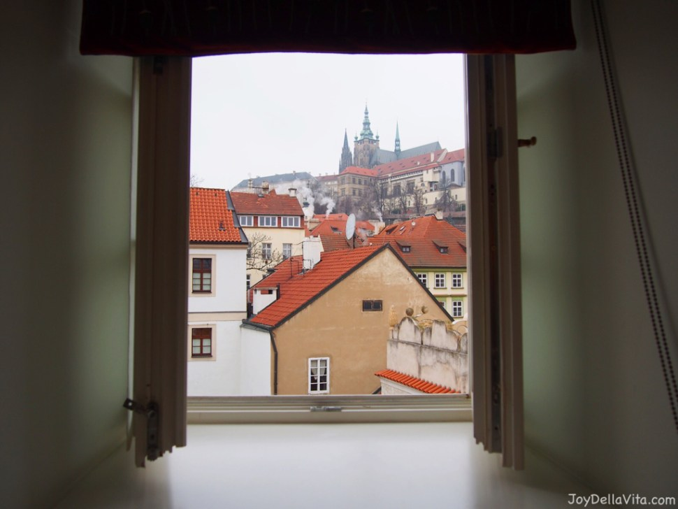 Hotel Room with a View on Prague Castle