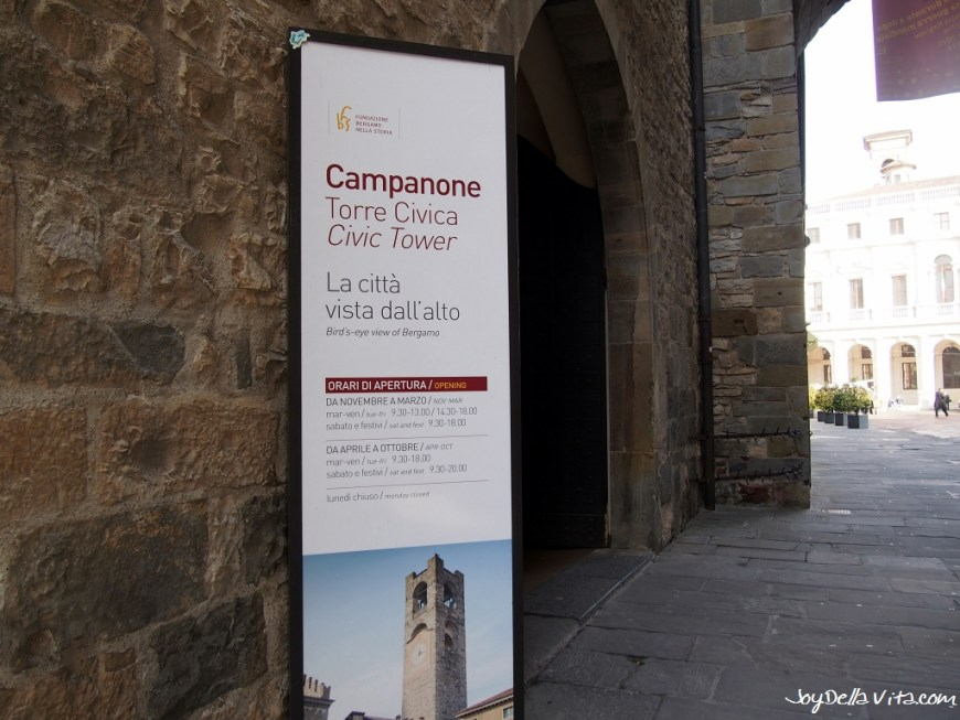 Visiting Museums for free with the Bergamo Card