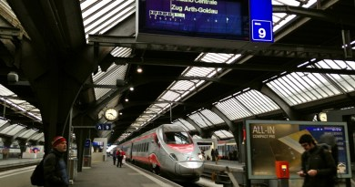 Frecciargento High Speed Train to Milan, from Zurich