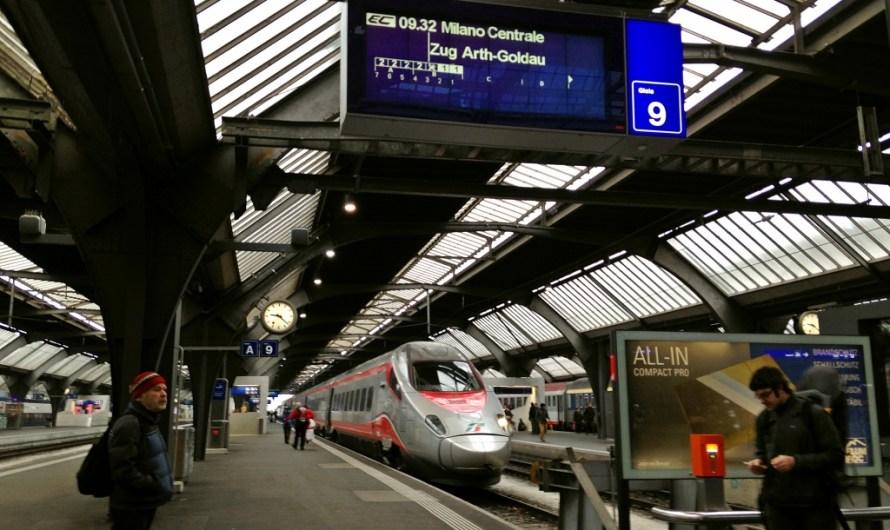 Frecciargento Train to Milan, from Zurich