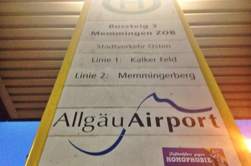 Memmingen Airport Transfer (Allgäu Airport)