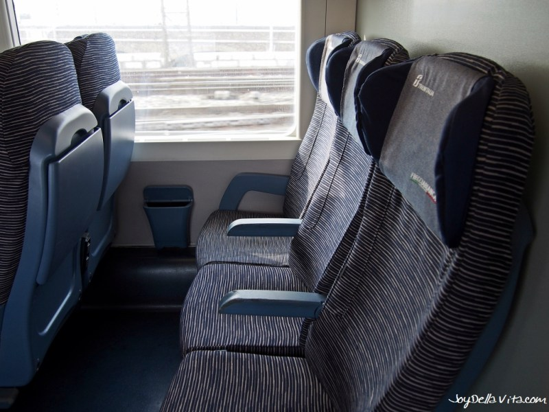Seats in 2nd Class - Frecciabianca Train to Venice, from Milan