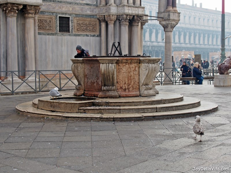 Saint Mark's Square in Venice in January