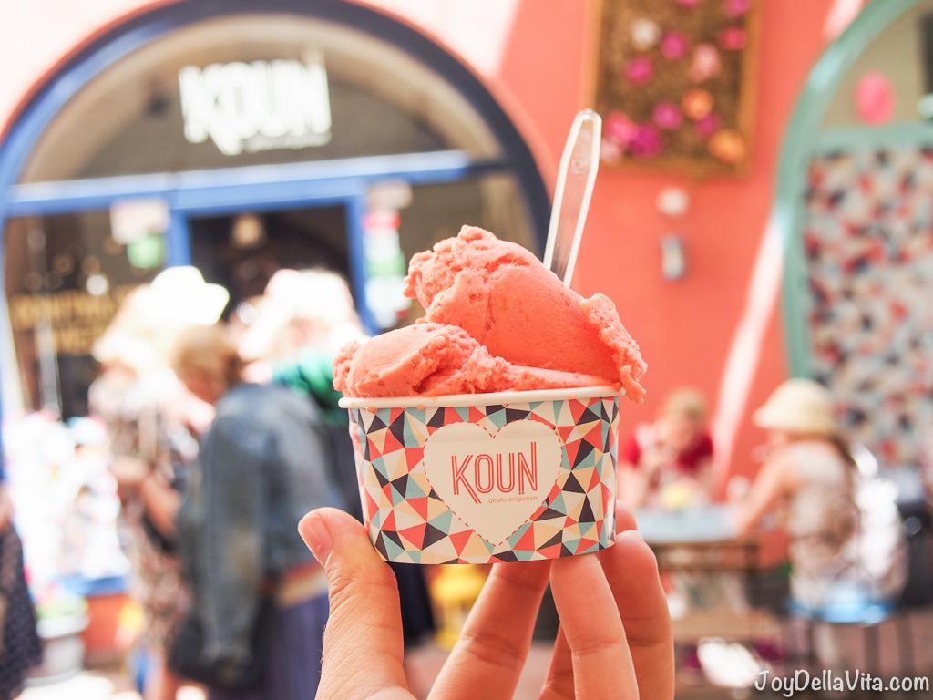 Strawberry Ice-Cream by KOUN Bratislava