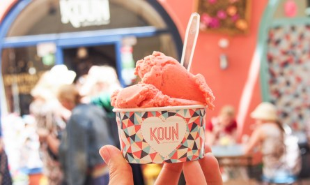 Strawberry Ice-Cream by KOUN Bratislava