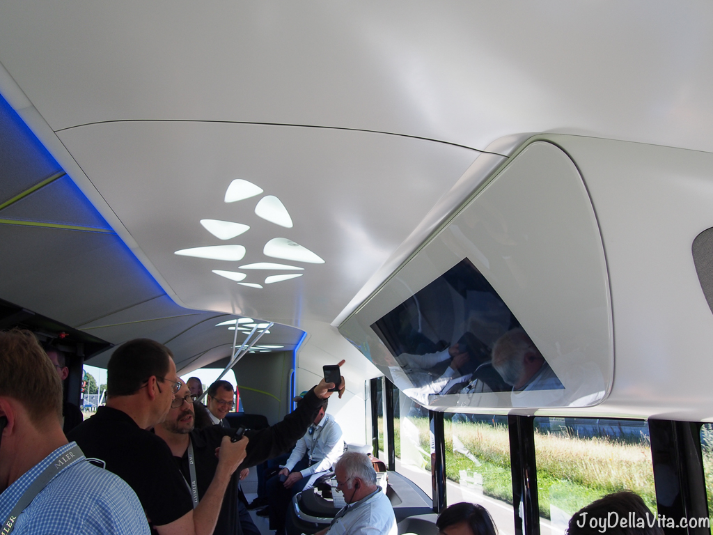 Inside the Mercedes-Benz Future Bus
