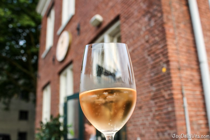 Rosé Wine at Sheepskameel Amsterdam