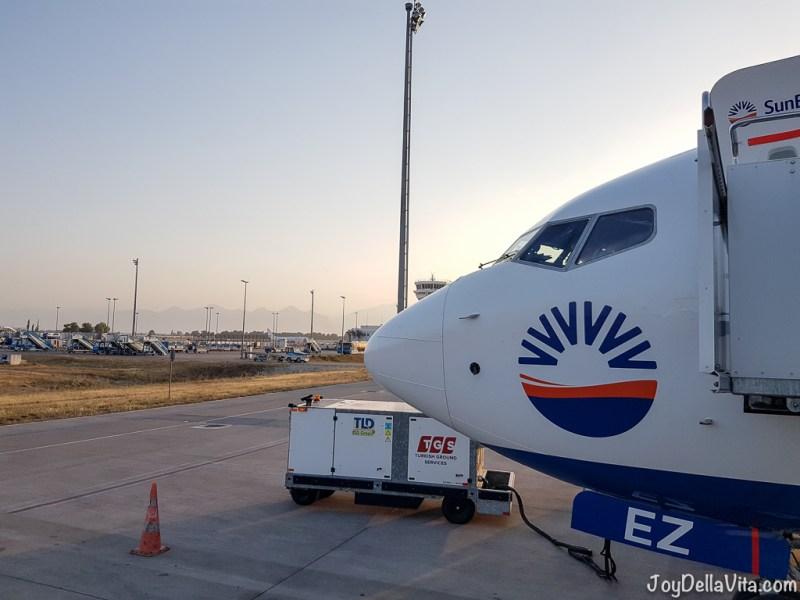 SunExpress Flight Review to Antalya at the Turkish Riviera