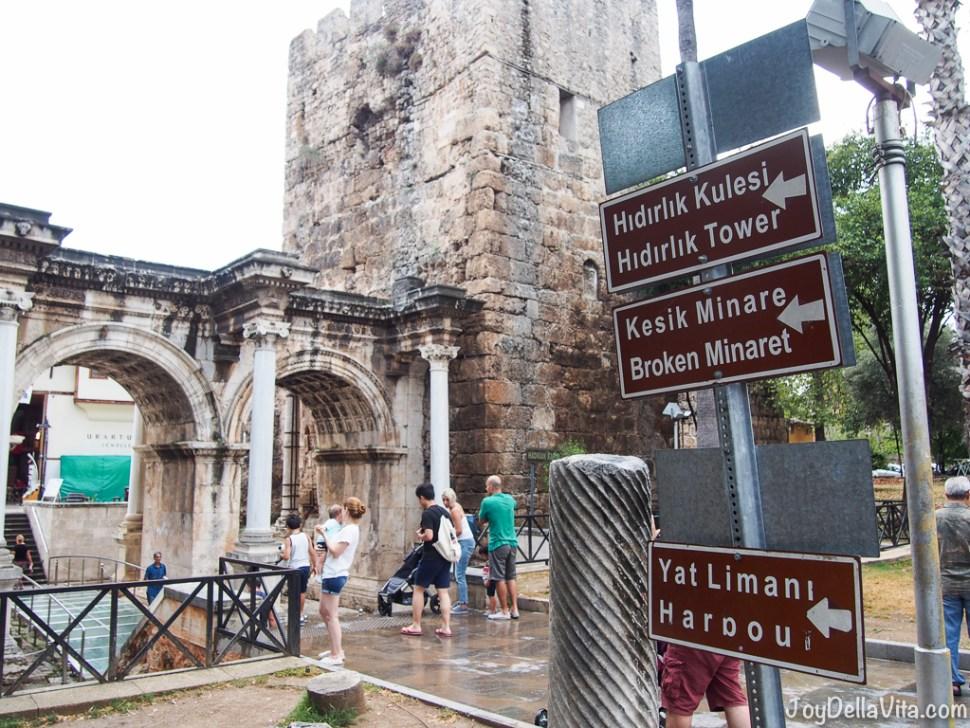 Antalya in the rain