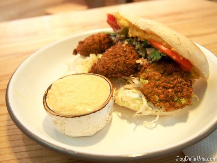 BagYard Berlin BIKINI Falafel Bag and Hummus Dip
