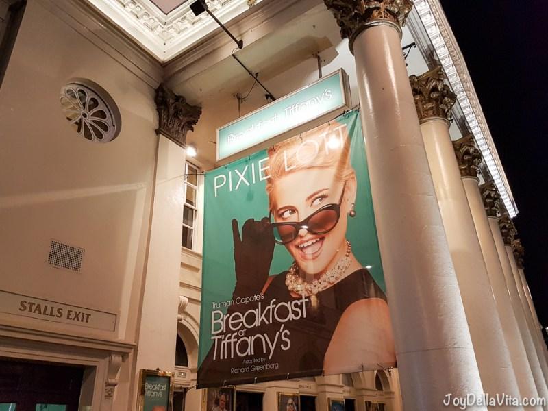 Breakfast at Tiffanys Pixie Lott Haymarket Theatre London JoyDellaVita