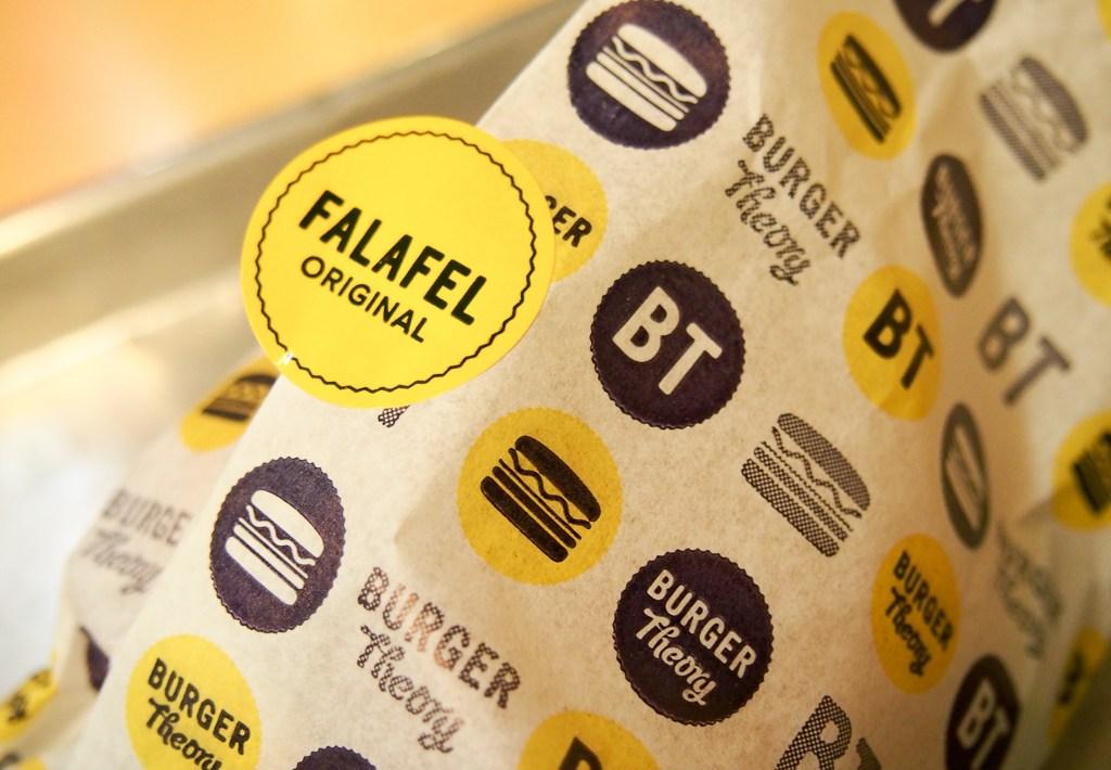 Burger Theory Adelaide Falafel Burger
