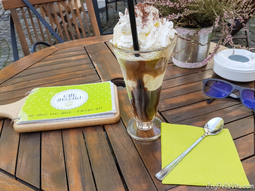 Iced Coffee Cafe Gluecklich Ravensburg
