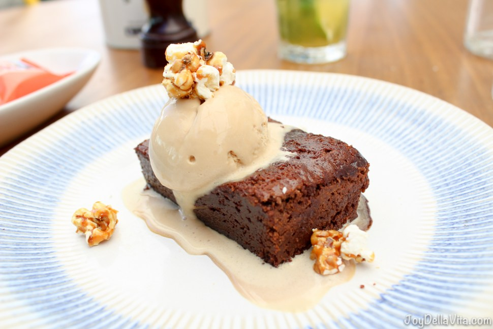 Jamie's Italian Super Lunch - 3nd Course - Epic Brownie