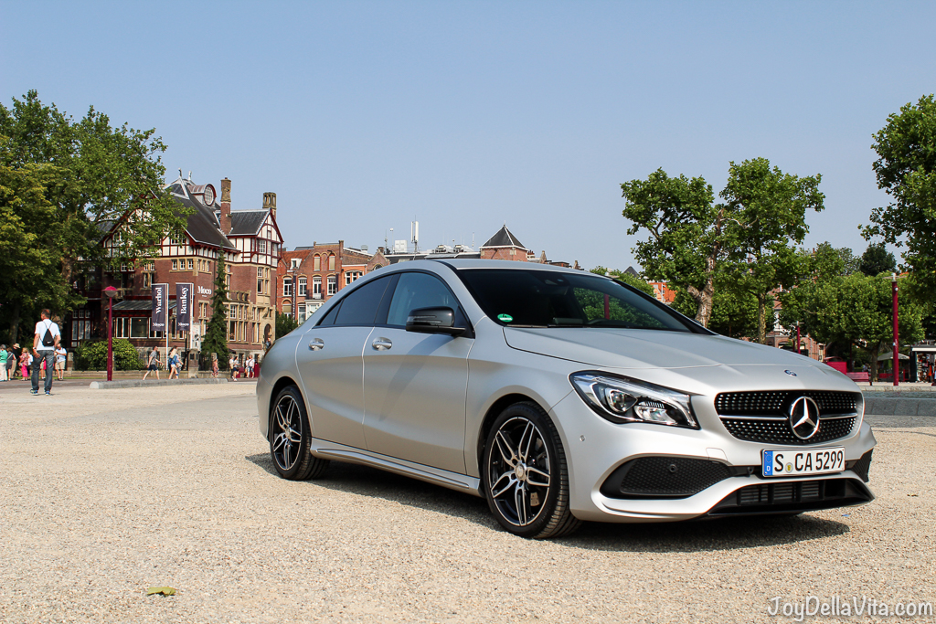Mercedes-Benz CLA at Museumplein Amsterdam