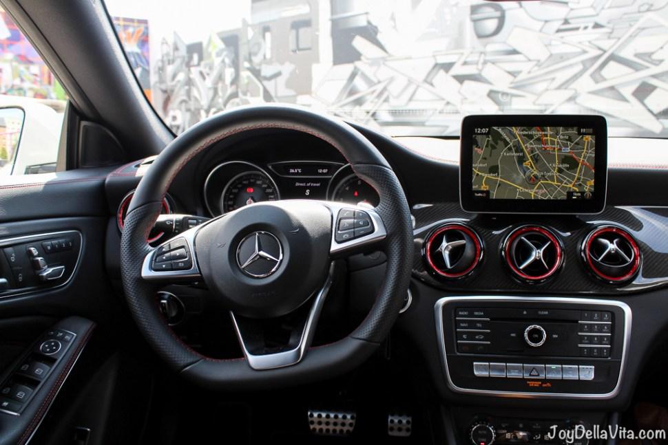 Mercedes-Benz CLA steering wheel