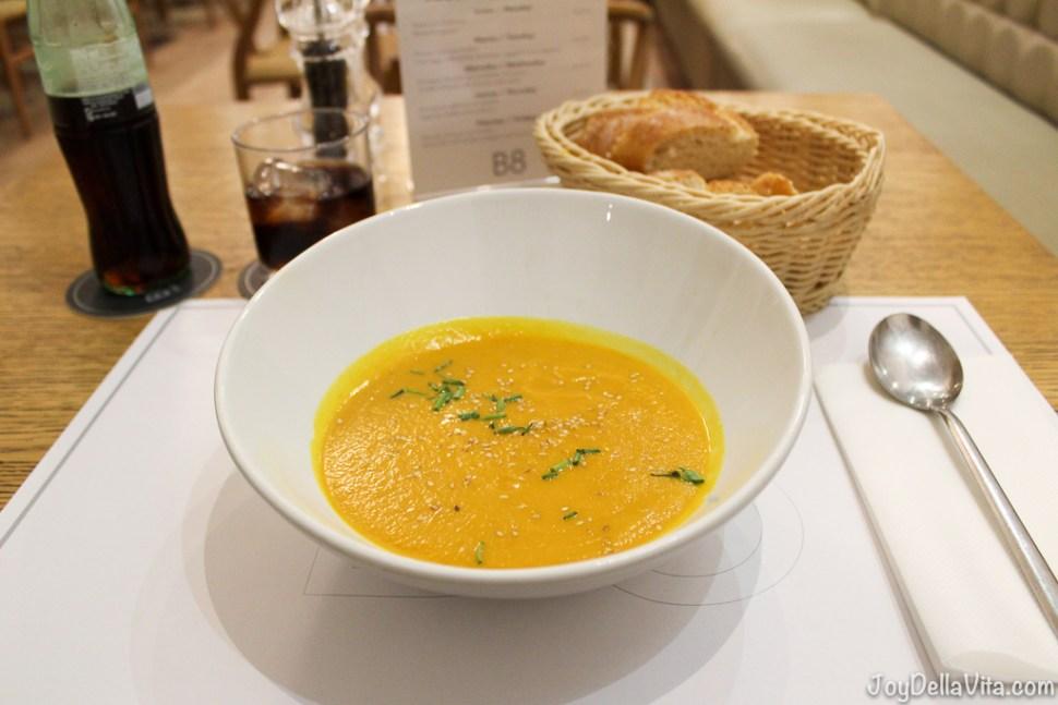 BORN 8 Restaurant Palma de Mallorca Soup JoyDellaVita