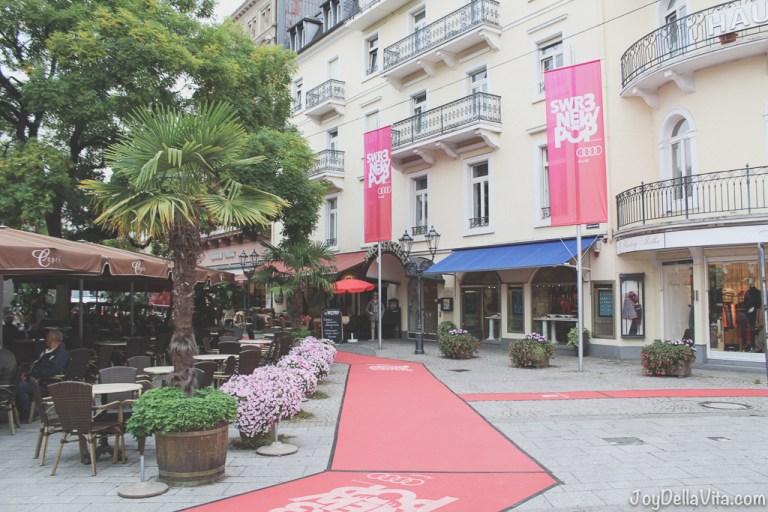 Travel Diary: Baden-Baden during #SWR3NewPop