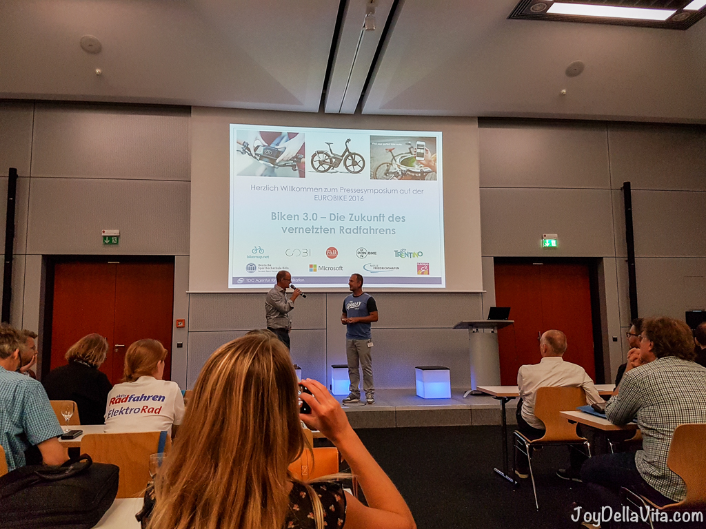Connected Bicycles and the Future of Biking at EUROBIKE 2016