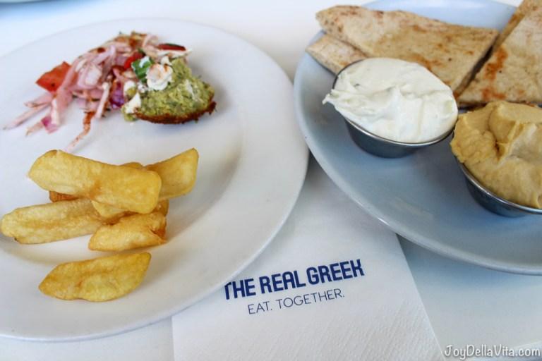 The Real Greek London Greek Restaurant at Westfield / Shepherd's Bush