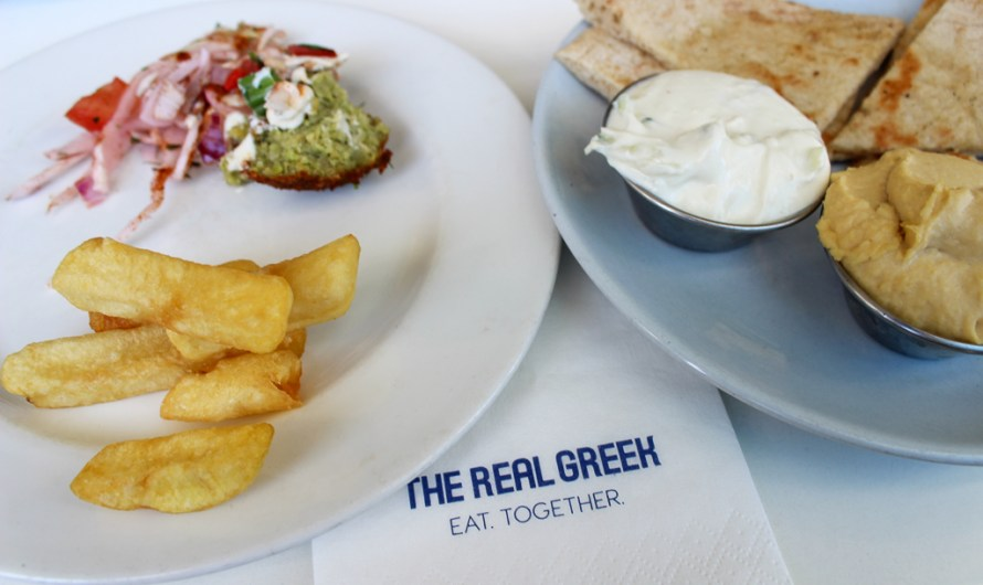 The Real Greek London Greek Restaurant at Westfield / Shepherd's Bush
