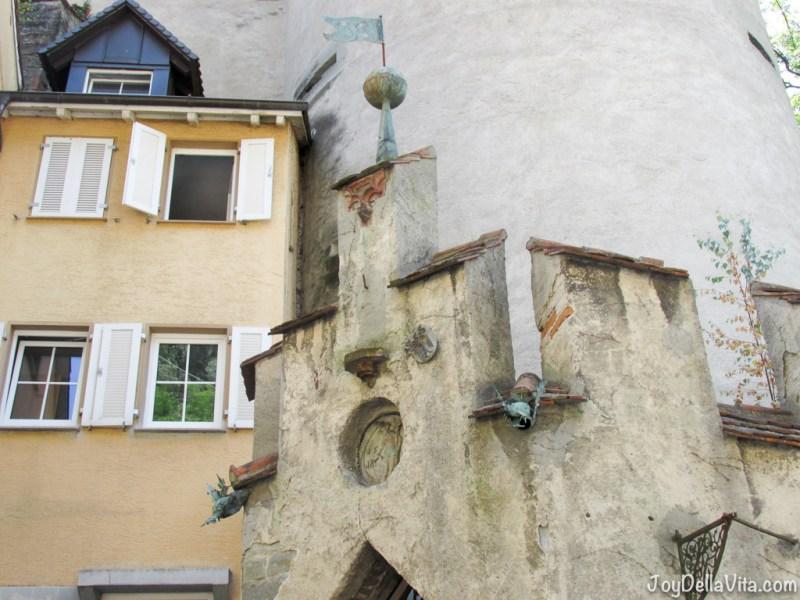 historic architecture in Meersburg