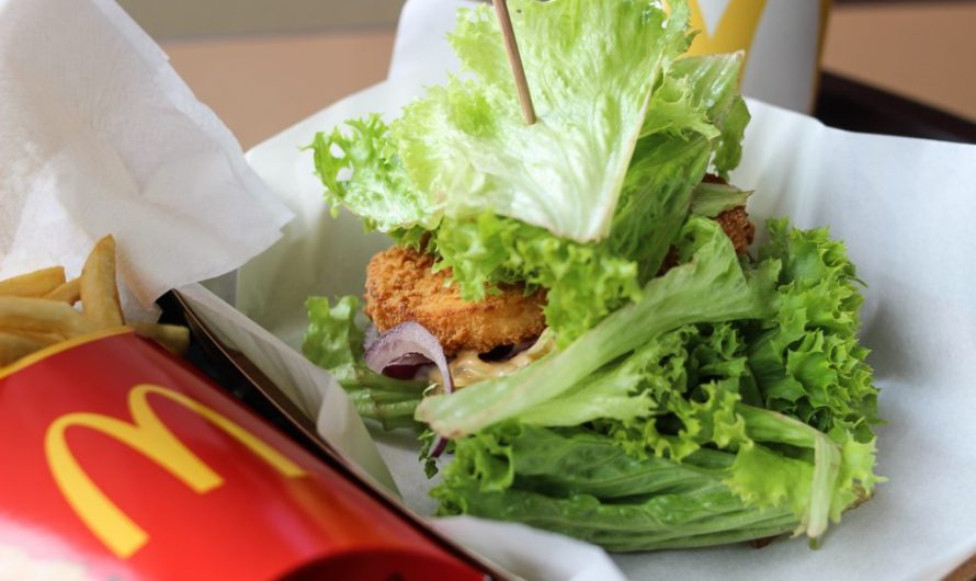 MyBurger LowCarb Veggie Burger at McDonalds Austria