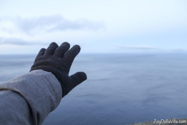 More than 2000 km to the North Pole, from North Cape in Norway