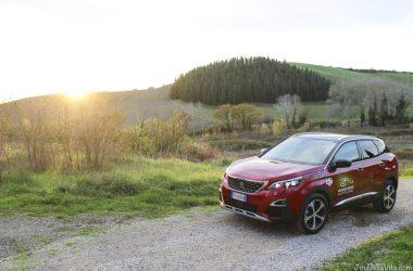 Peugeot 3008 GT-Line Castelfalfi Tuscany Sunset Travelblog JoyDellaVita