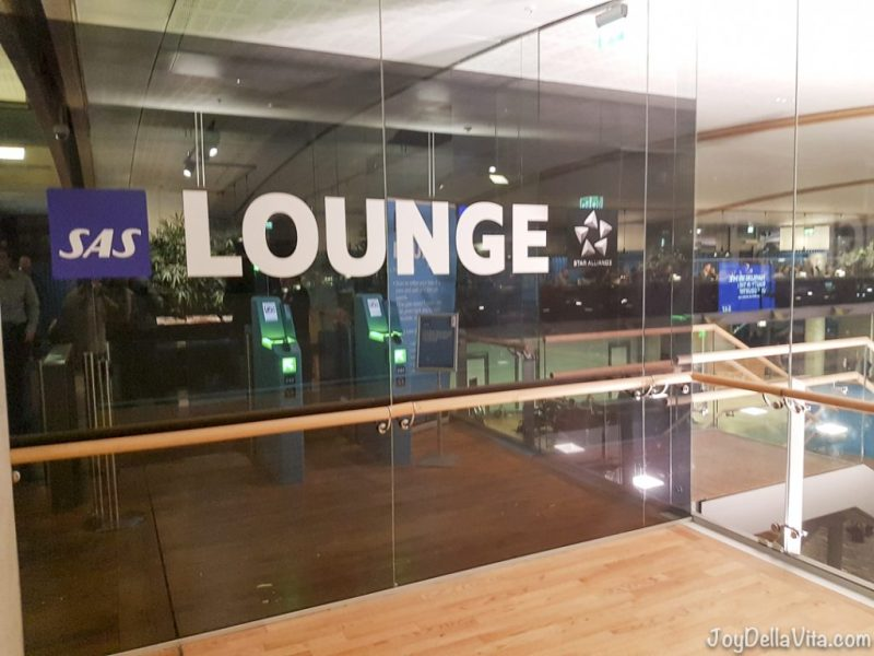 SAS Star Alliance Lounge Oslo Airport