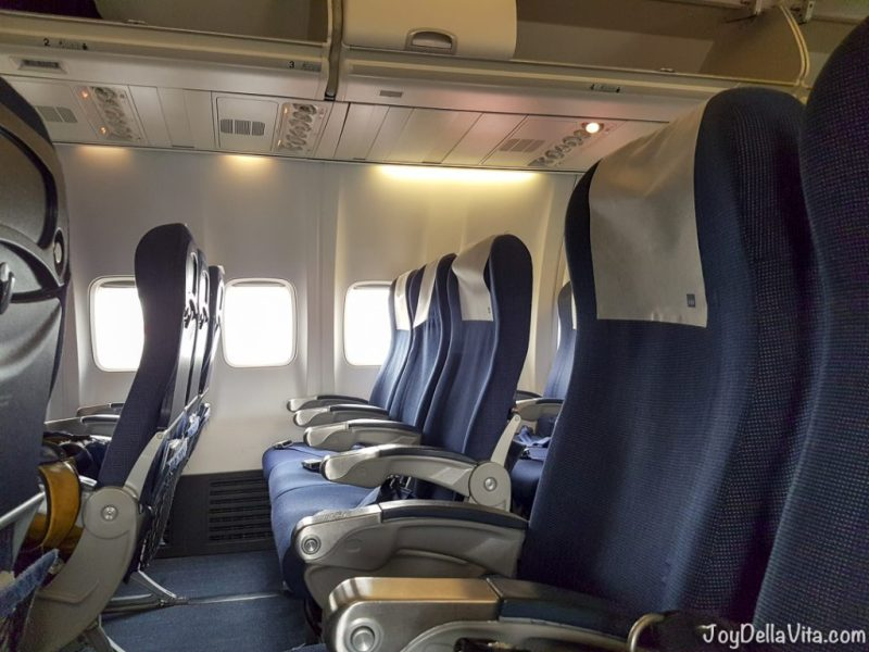 Flying SAS PLUS to Oslo from Zurich Travelblog JoyDellaVita