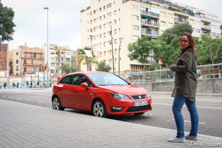 #SEATBestMoments Sightseeing in Barcelona with a SEAT Ibiza