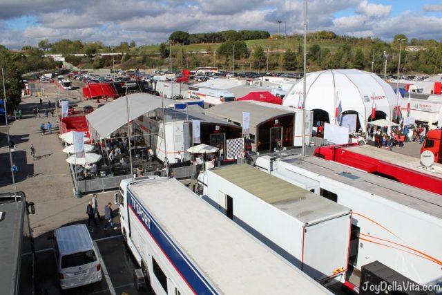 Paddock Area, SEAT Euro Cup Final 2016 Circuit de Catalunya Barcelona