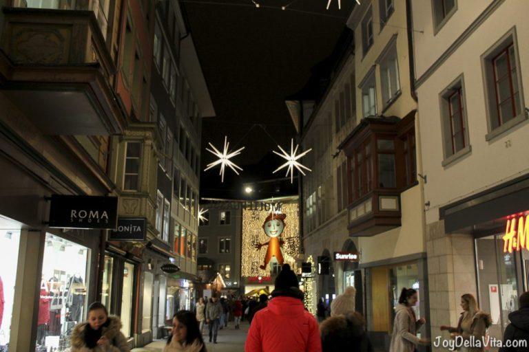 Pictures of St. Gallen Sternenstadt (Christmas Market)