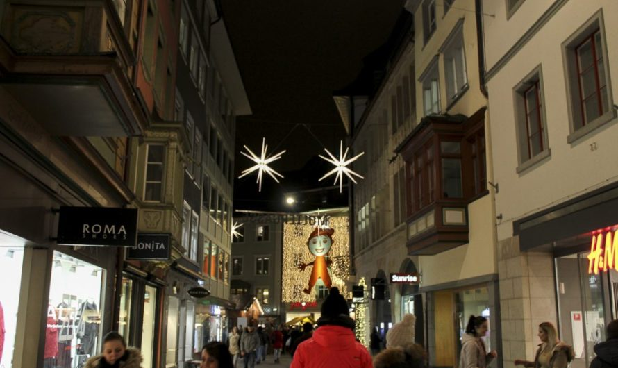 Pictures of St. Gallen Sternenstadt (Christmas Market)