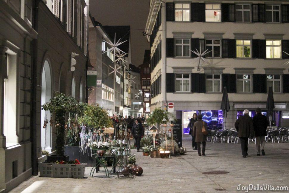 St. Gallen in the evening