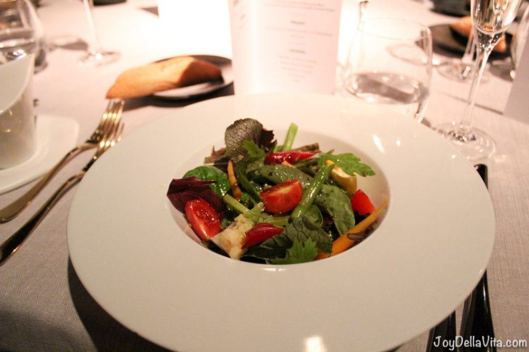 Salad - Torre dAlta Mar 360 Restaurant Barcelona Blog JoyDellaVi