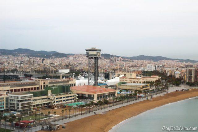 Torre d´Alta Mar seen from W Barcelona