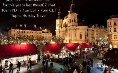 @VisitCZ Holiday Travel Chat on Nov 15th!