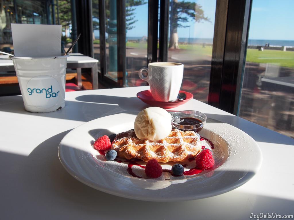 Grand Bar Glenelg Beach Waffle JoyDellaVita